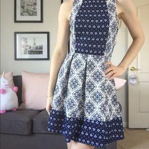 Dolce vita Italian riviera style dress by Rewind
